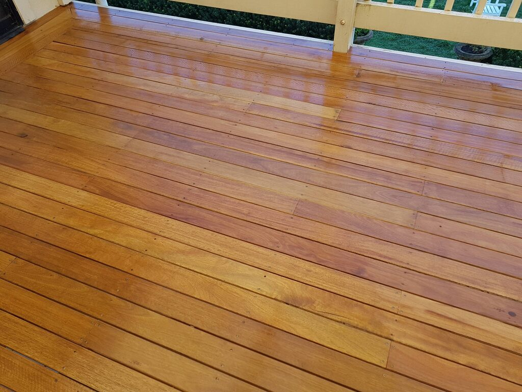 Spotted Gum oiled